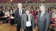 Bernd Passier von der Agentur für Arbeit (l.), Susanne Twesten