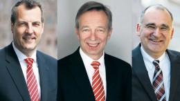 Der Vorstand der Sparkasse Harburg-Buxtehude
