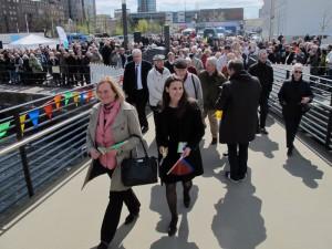 Brückenschlagfest in Harburg