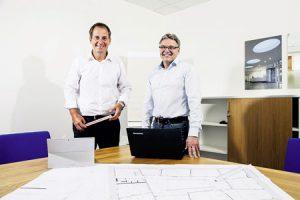 Vincent Schuch (links) und Stefan Mehte