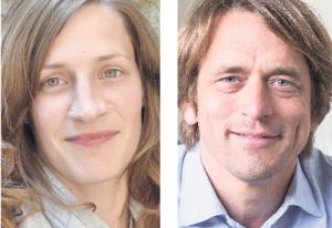 Petra Bammann und Martin Kremming.