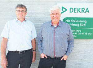 Ingo Hobe (links) und Rüdiger Haun