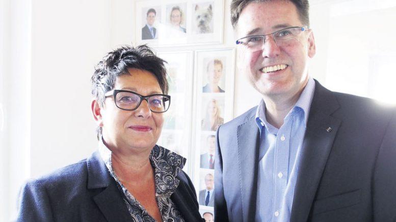 Elke Riechert hat den Hamburger Versicherungsmakler Thomas Kühnel