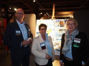 Sie waren an der Vorbereitung des BNI19 betreiligt: Chapter-Präsident Norbert Reichentrog sowie die Unternehmerinnen Elke Riechert (Mitte) und Nicole Maack.