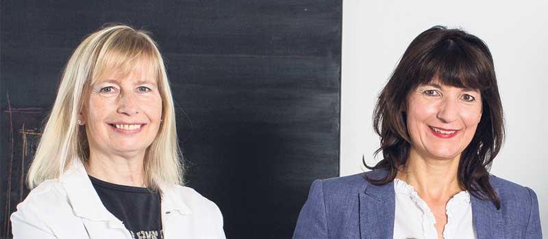 Kerstin Maack (rechts) und Karin Kahnenbley