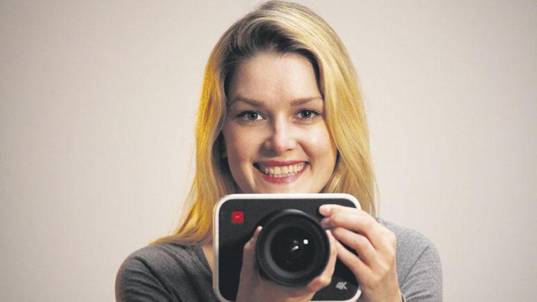 Nicol Stöcken ist eine professionelle Filmemacherin, die für Tageblatt TV auch Imagefilme produziert.