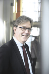 Der neue Präsident der TU Hamburg: Der Holländer Prof. Dr. Ed Brinksma tritt sein Amt mit einer kooperativen Grundhaltung an. Foto: TUHH/Eva Häberle