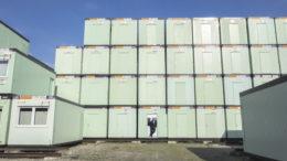 Der Rücklauf von Container-Modulen ist Teil des Geschäftsmodells. Gogers Team hat die Aufgabe, die Container im Markt zu platzieren, also Anschlussverwendungen zu finden.