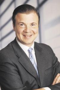 Arnold G. Mergell, Vorsitzender des Wirtschaftsvereins für den Hamburger Süden.