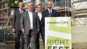 Richtfest im Harburger Binnenhafen