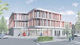 Neubau der Kreissparkasse Achim
