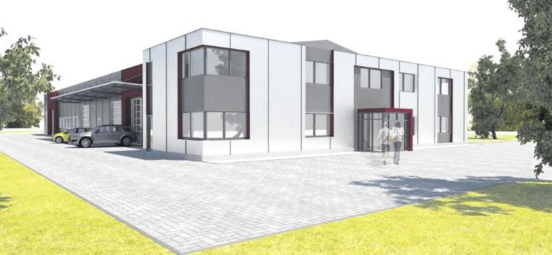 Visualisierung: Wedemann Architekten.