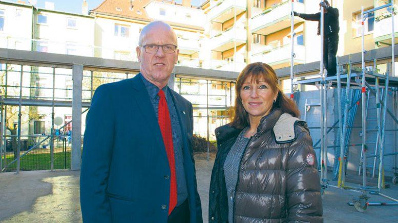 Joachim Bode und Alexandra Chrobo