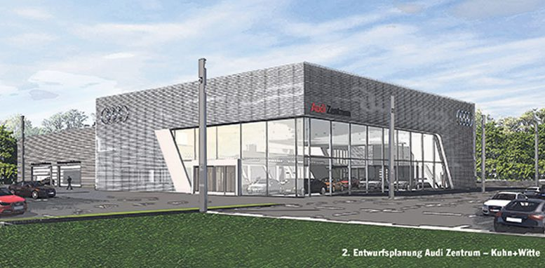 Audi-Zentrum in Fleestedt