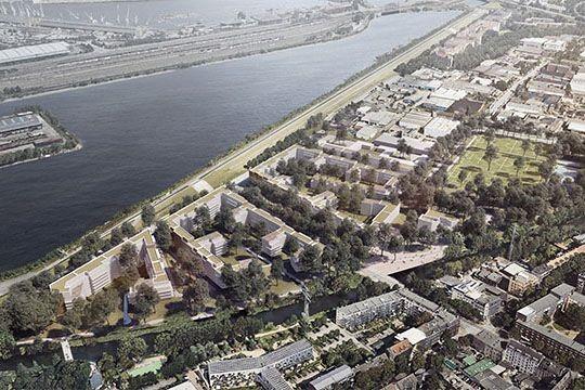 Bild © IBA Hamburg / BIWERMAU Architekten mit WES LandschaftsArchitektur