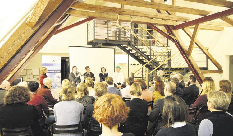 Wirtschaft im Dialog: Beim NIT steht der Austausch im Mittelpunkt.