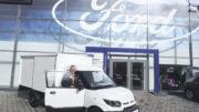 DHL: Tobaben-Verkaufsleiter Andreas Peters freut sich über das große Interesse unter den gewerblichen Kunden.