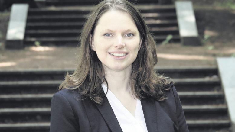 Dr. Melanie Leonhard ist seit Oktober 2015 Hamburger Senatorin für Arbeit, Soziales, Familie und Integration und seit März 2018 Landesvorsitzende der SPD Hamburg. Foto: Christian Bittcher