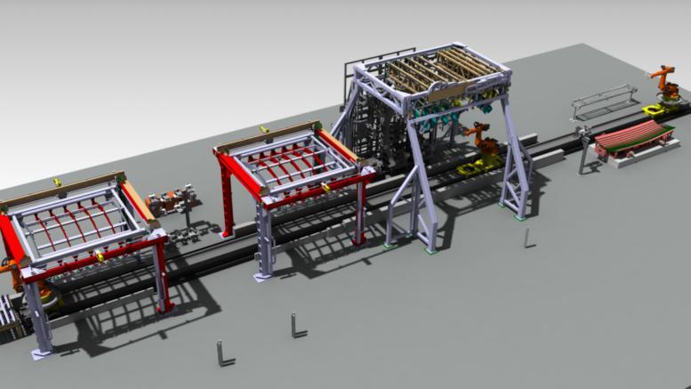 © Software: 3DEXPERIENCE von Dassault Systèmes; Fraunhofer IFAM