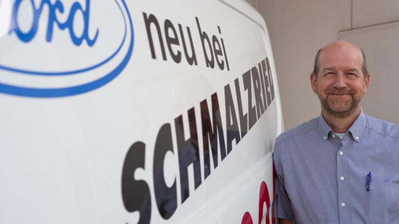 Otto Stingl, Geschäftsführer des Autohauses Schmalzried