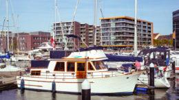 Hafenstimmung in den Bremerhavener Havenwelten