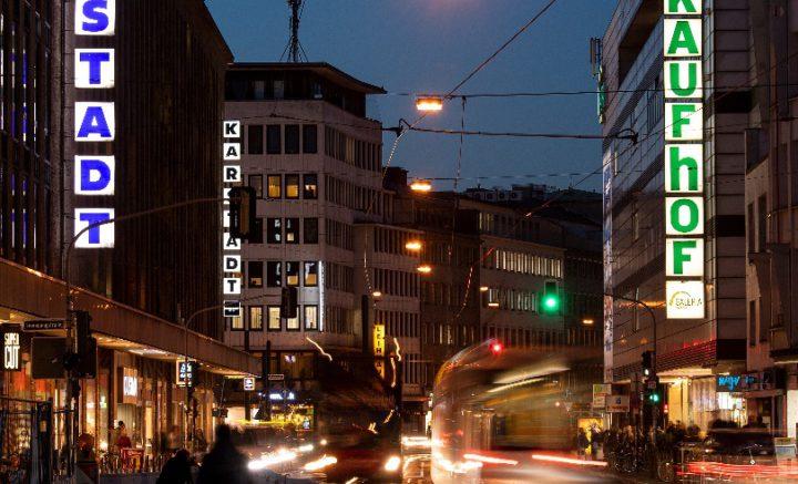 FIlialen von Karstadt und Kaufhof in Düsseldorf