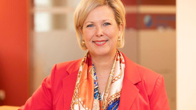 Die neue Präses der Handelskammer Bremen: Janina Marahrens-Hashagen